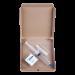 Golden Teacher psilocybe cubensis spore syringe pack with needle, prep